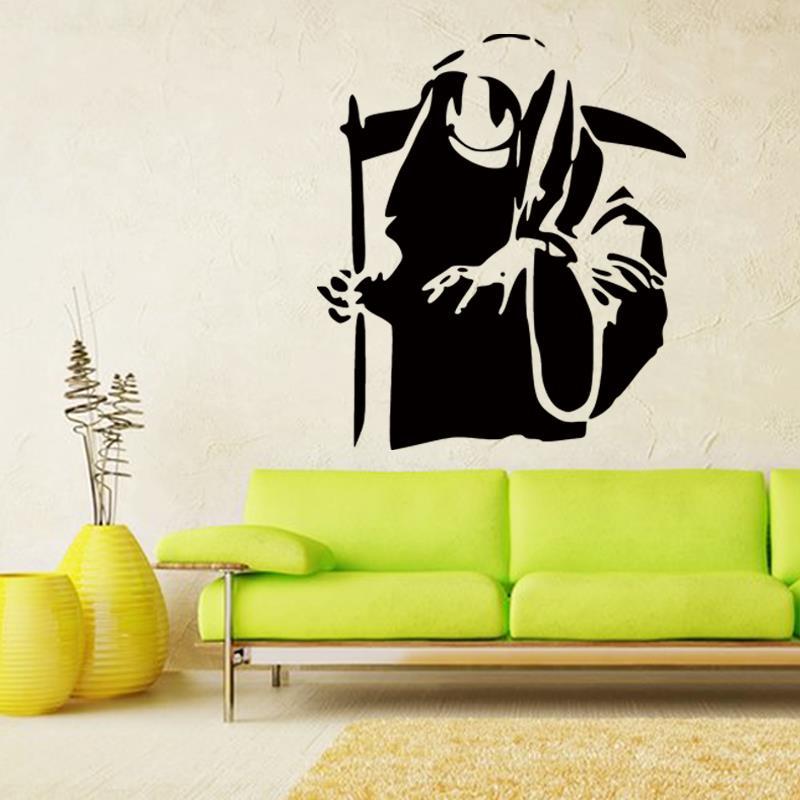 online kaufen gro handel banksy stencil graffiti aus china. Black Bedroom Furniture Sets. Home Design Ideas