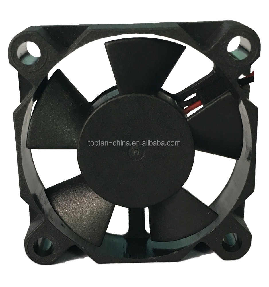 35x35x10mm High Pressure Black Mini Cooling Fan 12 Volt Brushless Computer CPU Cooler