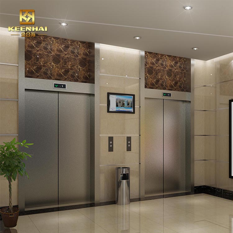 Building Construction Material Elevator Door Panel For Hotel Decoration