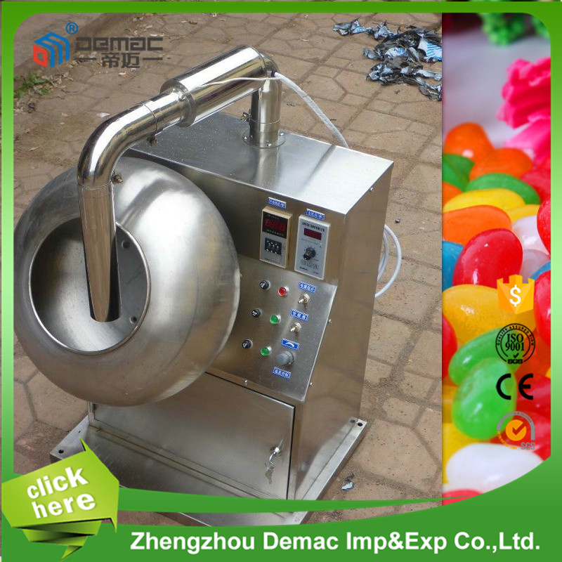 Automatic peanut nut dragee sugar coating machine