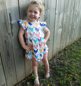 cef0128da Chicken Baby Girl Summer Dress Pearl