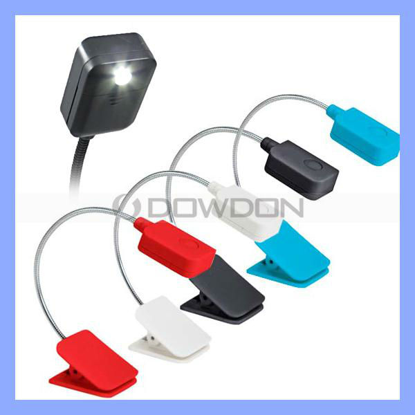 Hot Sell Clip On Adjustable LED Book Reading Light