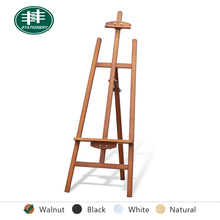 High Quality Wooden Drawing Painting, Tabletop Display Easel(walnut)
