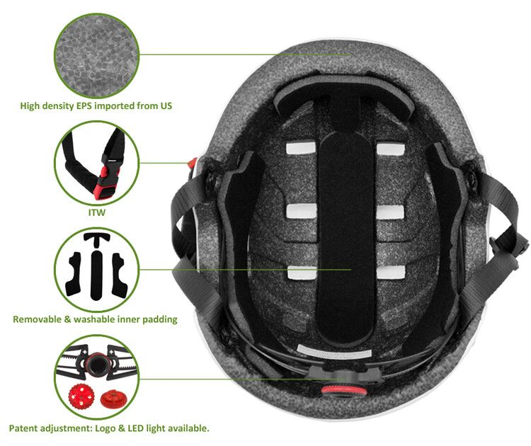 As/nzs Certificated Electric Scooter Helmet 10