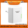 200Mbps mini wallmount homeplug plc powerline AV ethernet network adapter