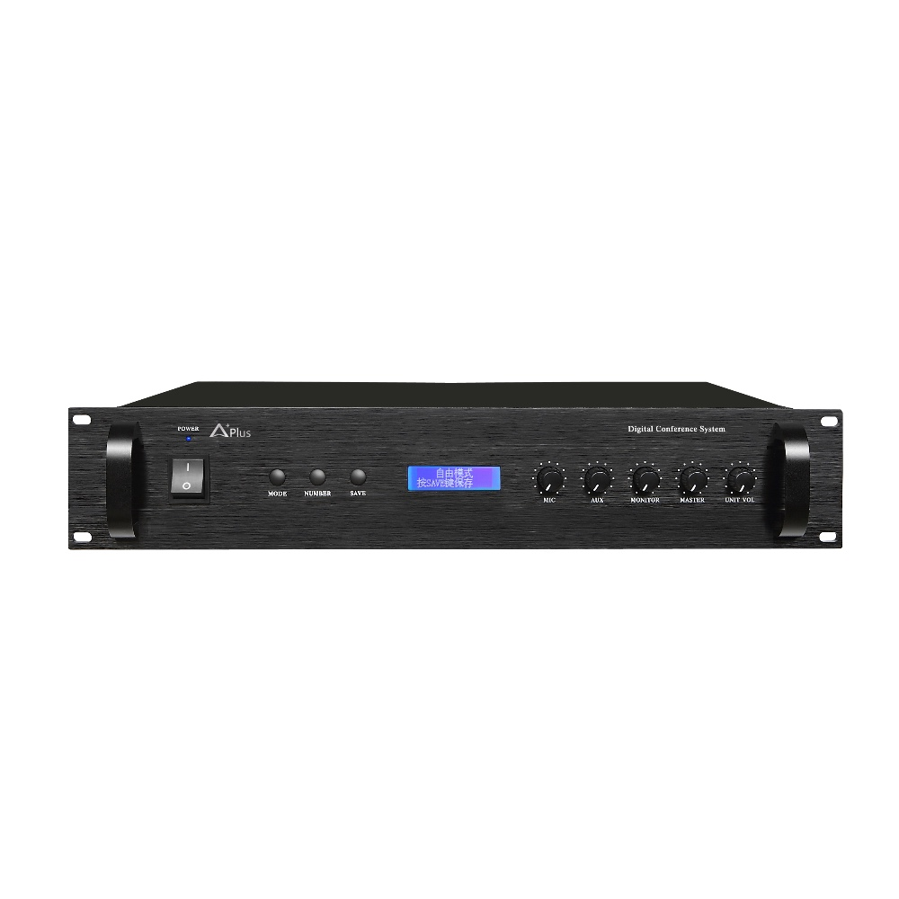 AC-6010MA Full digital conference system controller with discussion/vote/video tracking