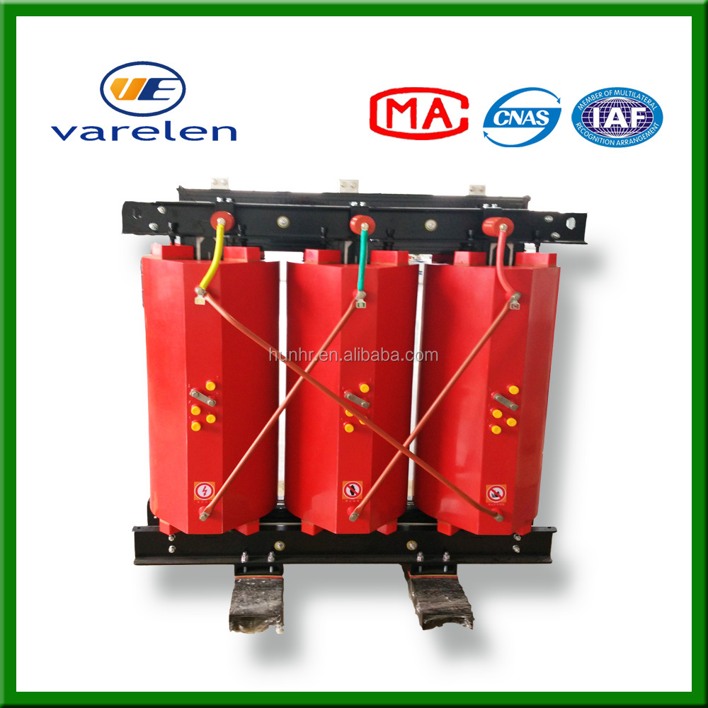 1000 kva 6kv epoxy resin cast dry-type power transformers