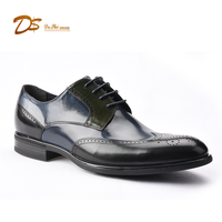 Hot sell fashion handmade genuine leather oxford mens dress shoes italian
