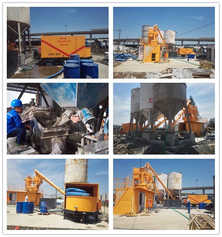 Schuim betonblok making machine voor clc foam concrete