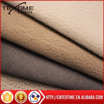 Microfiber Suede Upholstery Fabric Synthetic Suede Fabric Polyester