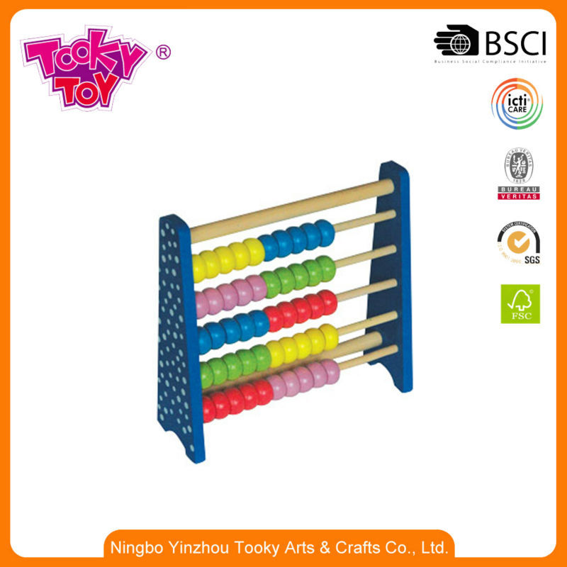 Non-Toxic Math Game Abacus Toys For Blind Children