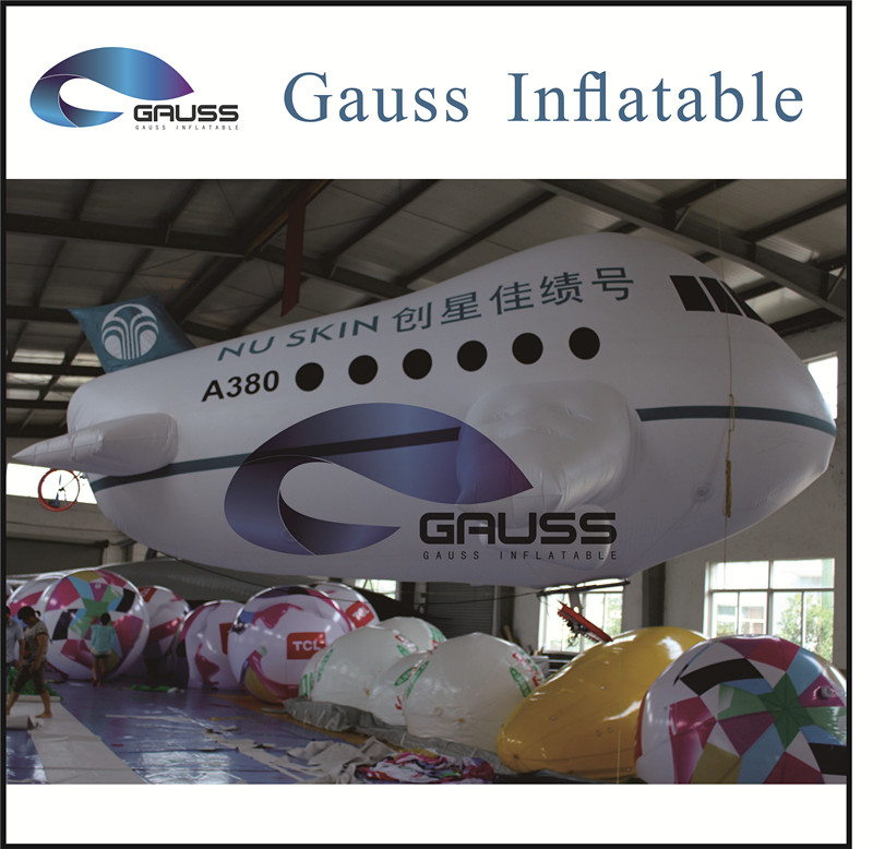 inflatable airplane