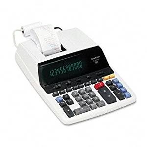 """Sharp - El2630piii Two-Color Printing Calculator Black/Red Print 4.8 Lines/Sec """"Product Category: Office Machines/Calculators & Counters"""""""