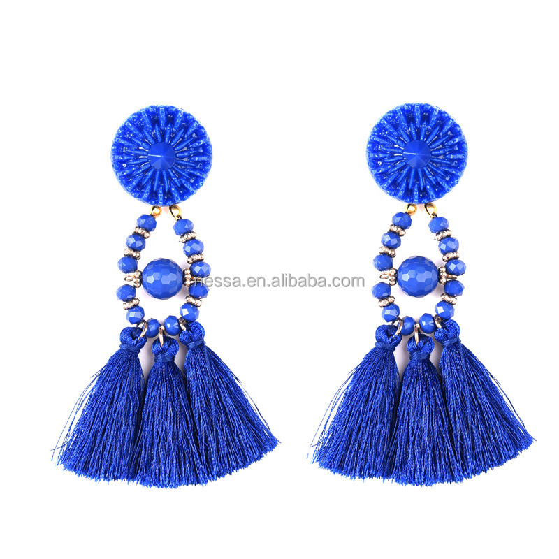 Fashion Colorful Tassel <strong>Earrings</strong> Wholesale NSER-178191