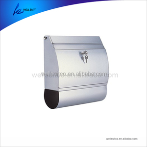 Wall Mounted Stainless Steel Mail Post Outdoor Outside Letter Box Stainless Steel Mailbox
