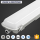 project 1.2m 40w aluminum batten lamp PC diffuser linkable IP65 tube fittings garage vapour proof led waterproof linear light