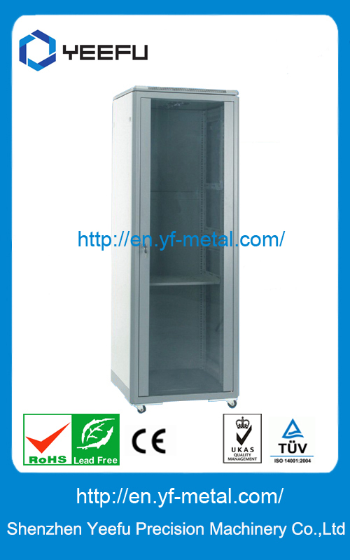 "19"" Monitor Equipment Network Steel Cabinet"