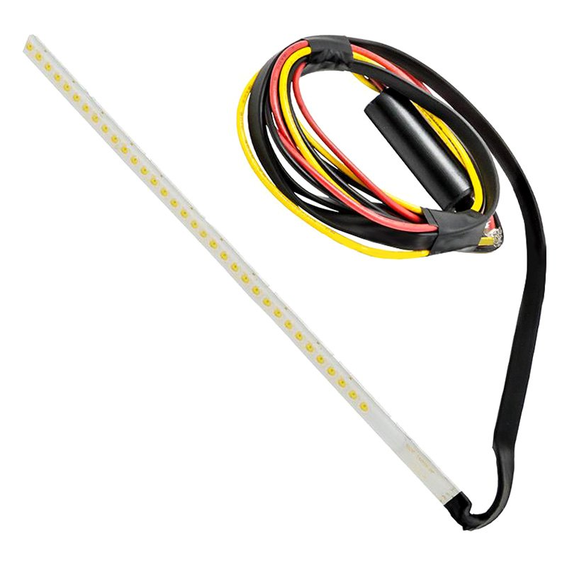"Plasma Switchback DRL/Richtingaanwijzer 18 ""Amber/Wit LED Strip"