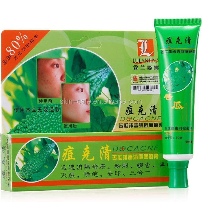 hot selling Rolanjona Bitter Gourd Detox best anti acne pimples treatment remove cream