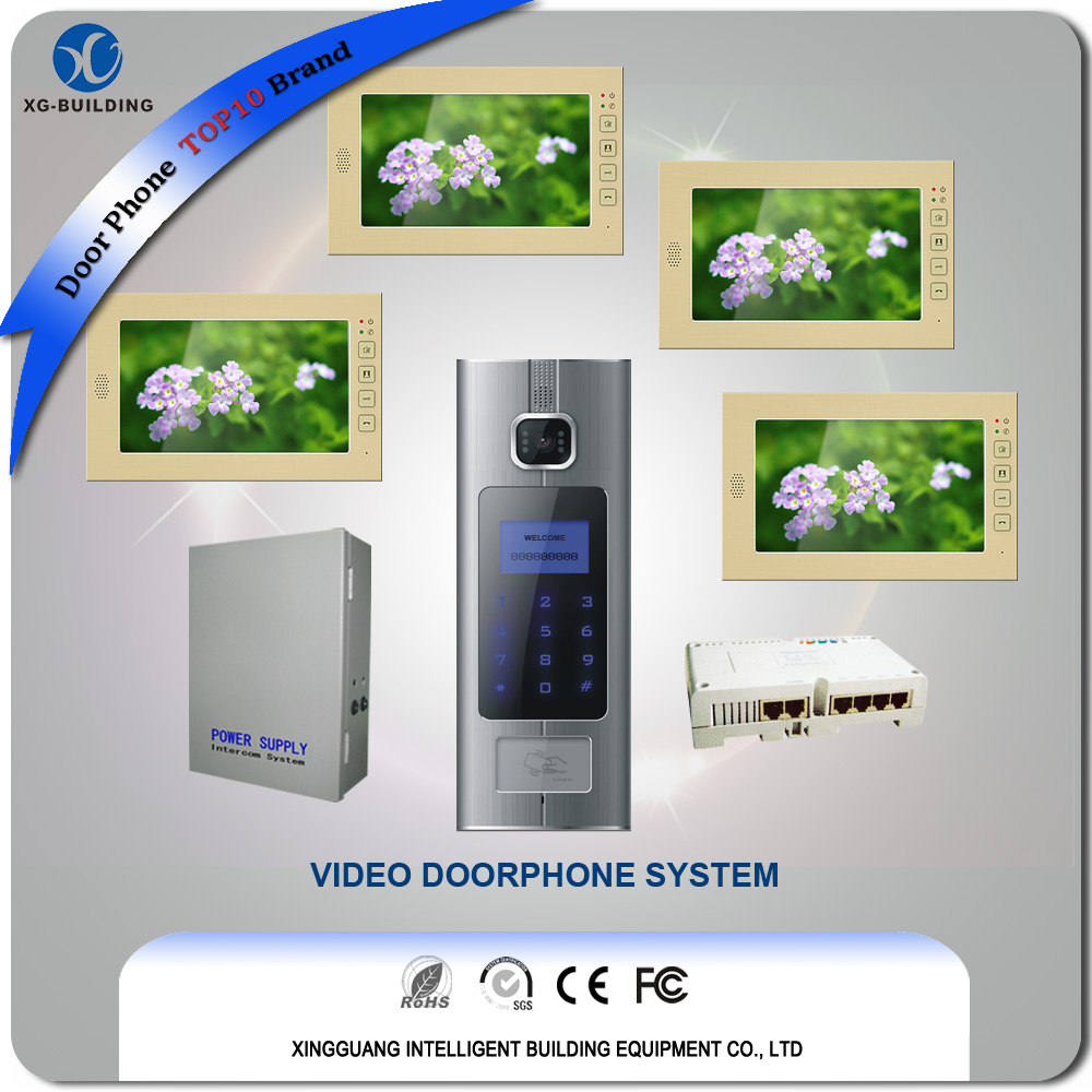Apartment Video Door Phone with Access Control