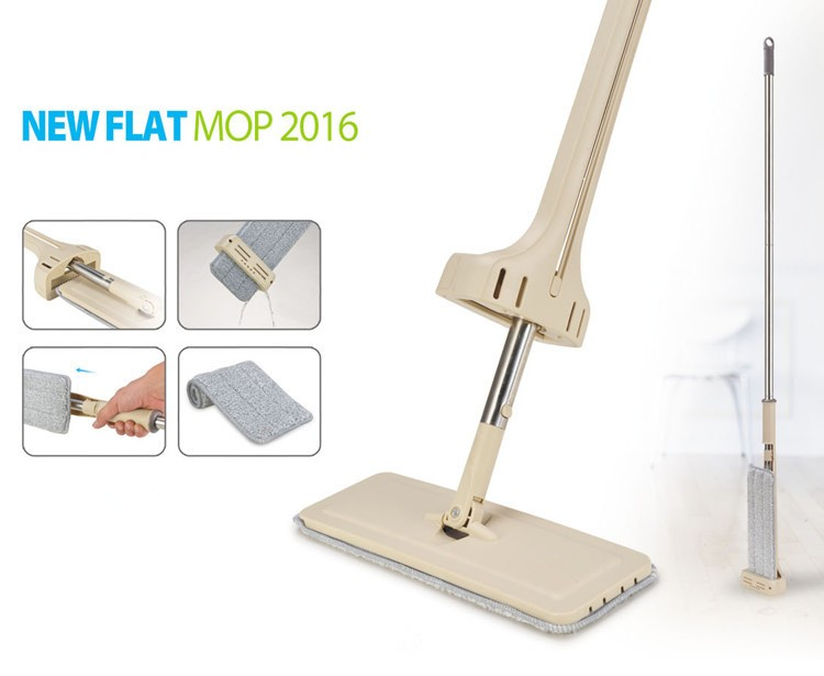 Hands Free Mikrofaser-Bodenreinigungsprodukt Good 360 Easy Self Squeeze Magic Flat Mop