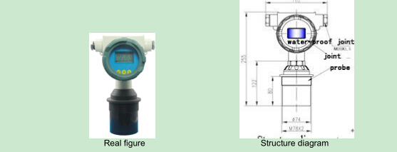 Ultrasonic level meter/level Sensor/Level Transmitter