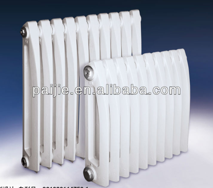 Pioneer decorative cast iron heating radiator/radiator patent product for hot water heating system