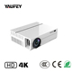 Yaufey 5000 lumens Laser HDMI Projector 1080p Native Full HD LED HDMIHome Cinema WiFi Bluetooth Projector 4K