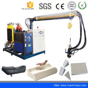 High Pressure automatic Polyurethane PU Sponge Block Foaming Metering Machine With ISO and CE