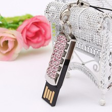 Jewelry Crystal USB Flash Pen Drive 8GB 16GB 32GB