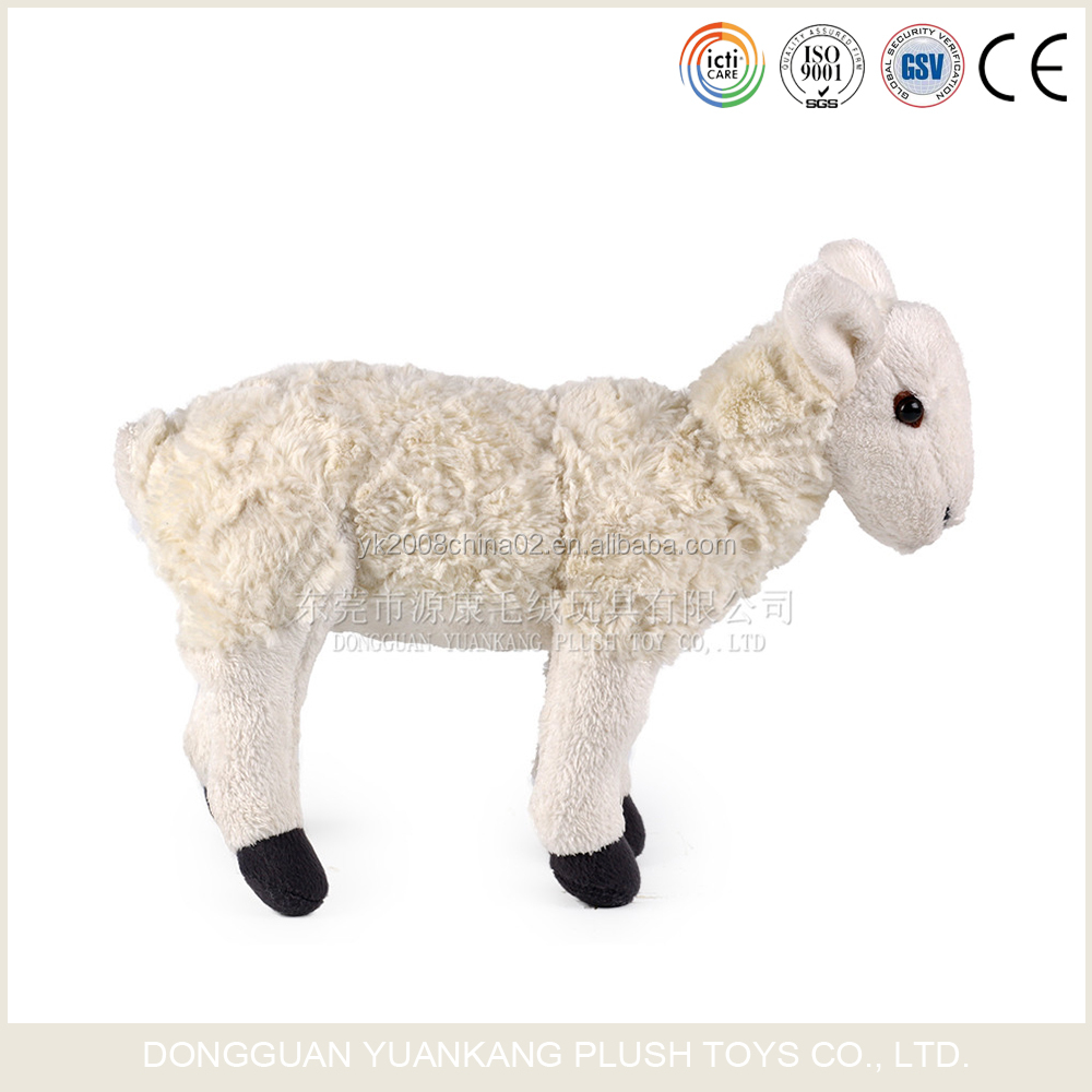2016 High quality low price mini sheep plush elf toys