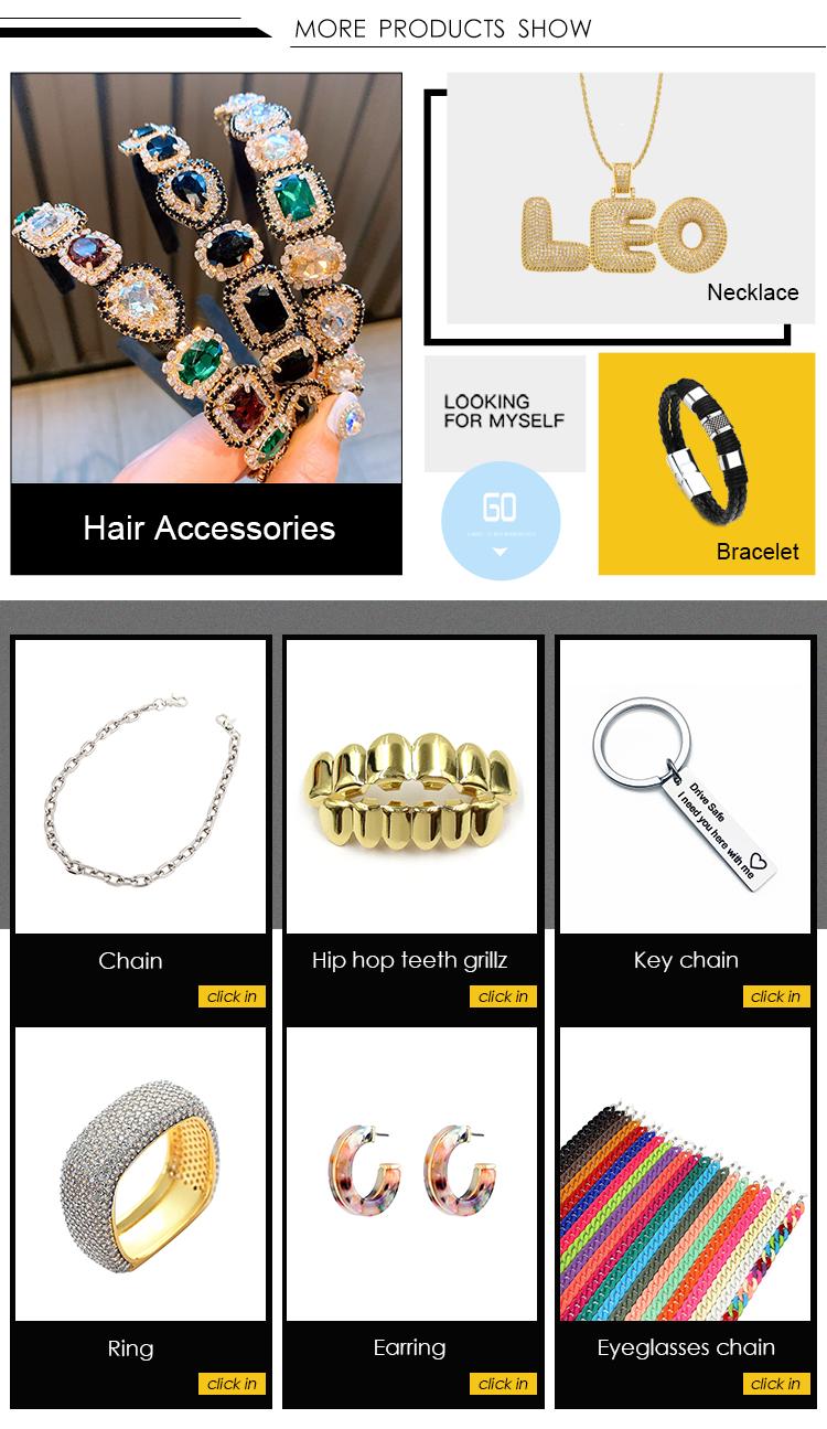 Hot sale korean girls geometric acetic acid metal hair clips