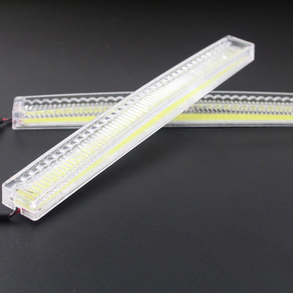 2 шт. 84SMD COB автомобилей DRL дневные ходовые огни парковка резервного копирования свет лампы