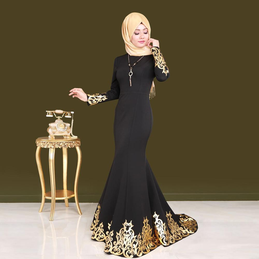 30a08f034be2 China Muslim Evening Dress, China Muslim Evening Dress Manufacturers and  Suppliers on Alibaba.com