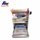 Automatic Fast food lunch box plastic tray sealing film machine/plastic snack box sealer