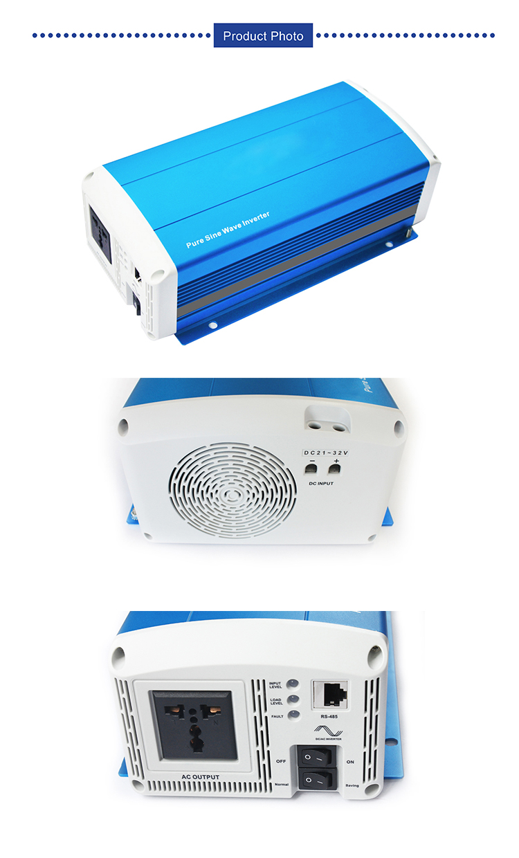 Pure sine wave inverter 300W with toroidal transformer
