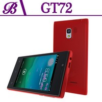 4inch Android red cell phone, unique mobile phone design