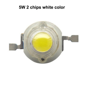 5W 2700K-8000K white color high power led chip
