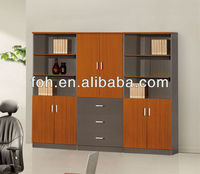 Home Study Room Bookshelves/ Filing Cabinet for CEO Office ( FOHF0802A + FOHF0802C)