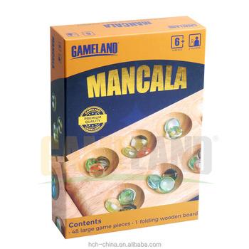Classic Games Wood Folding Mancala Board Game With Glass Beads - Buy Wooden  Mancala,Classic Game,Folding Mancala Product on Alibaba com