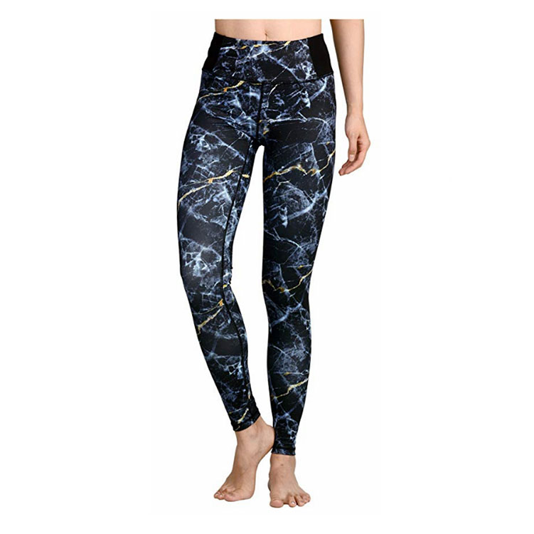 92% polyester 8% spandex double brushed spuer soft Valentine's day printing leggings