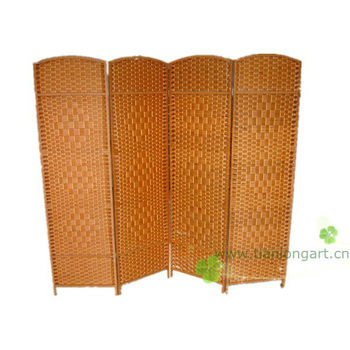 Hot sale decorative handmade woven cheap room dividers for Cheap decorative screens