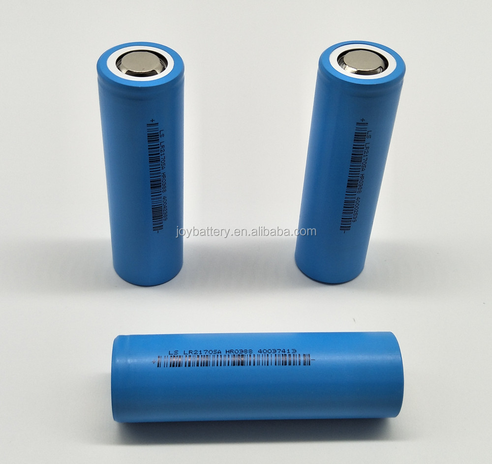 21700 3.7V 4000mAh lithium ion rechargeable li-ion battery cell in stock