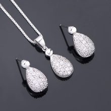 Best china wholesale 925 silver jewelry set