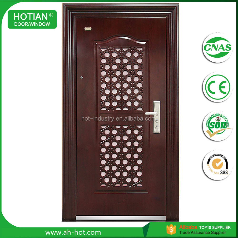 Indian Latest House Main Gate Designs Steel Door For Wrought Iron