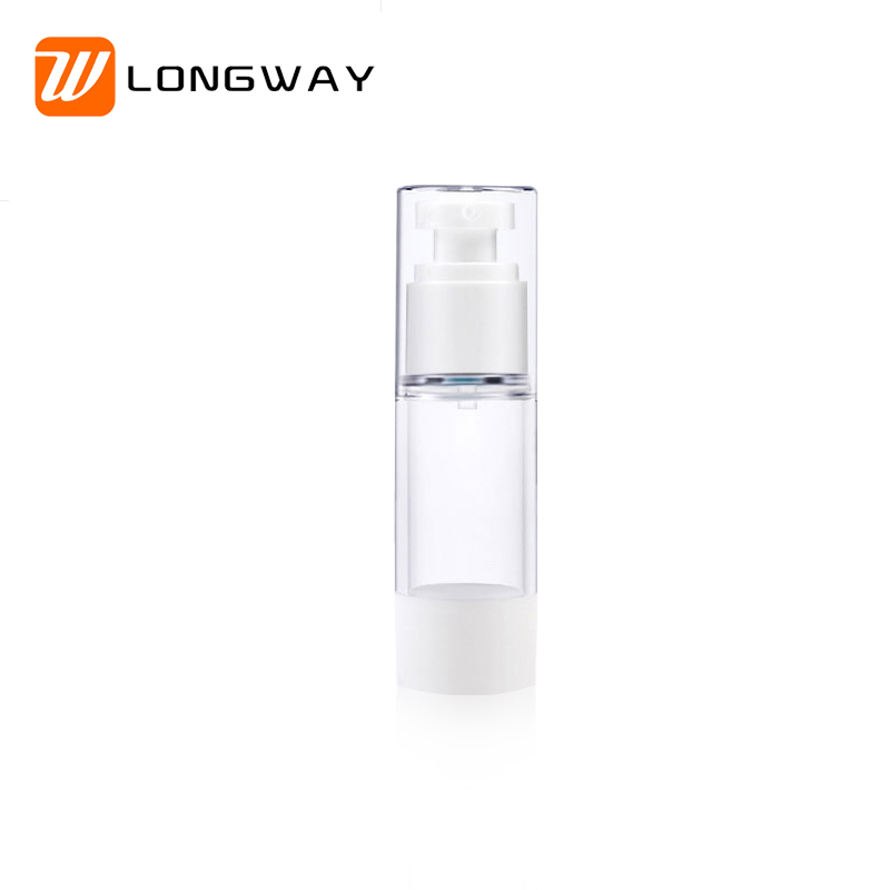 15ml 30ml 50ml high quality plastic AS empty airless pump <strong>bottle</strong> for personal care