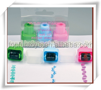 Mini Size Children's Self-ink Rolling Toy Stamper