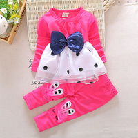 New Product Cute Baby Girl Clothes 100% Cotton Toddler Boutique Girl Clothing Sets