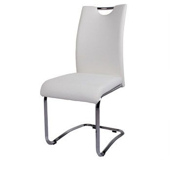 Outstanding Modern Metal Leg Leather White Chrome Dining Chairs Buy White Chrome Dining Chairs White Chrome Dining Chairs White Chrome Dining Chairs Product On Camellatalisay Diy Chair Ideas Camellatalisaycom