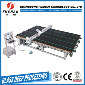 the automatic glass drawing and cutting machine with long life